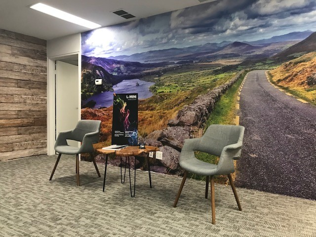 Wall Mural Lobby Signs Irvine CA