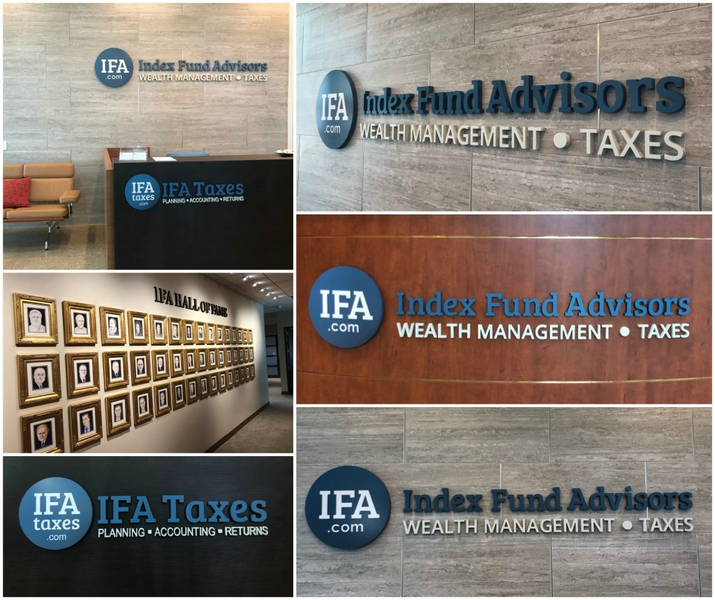 3D Letter Logo Lobby Signs for Financial Firms in Irvine CA