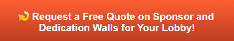 Request a Free Quote on Sponsor and Dedication Walls