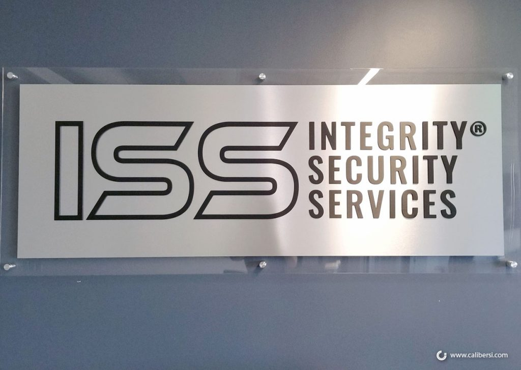 Acrylic Panel Lobby Signs with 3D Lettering in Irvine CA