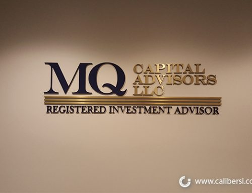 5 Types of Lobby Signs for Financial Firms in Orange County CA