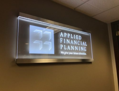 Examples of Edge-Lit Lobby Signs Including How They Are Fabricated and Installed!